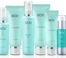 NOVの化粧品サンプル